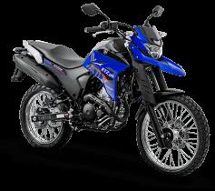 XTZ 250 AZUL